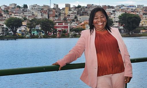 Maria do Amparo, primeira mestre de obras da Bahia  Foto: Carol Garcia/GOVBA